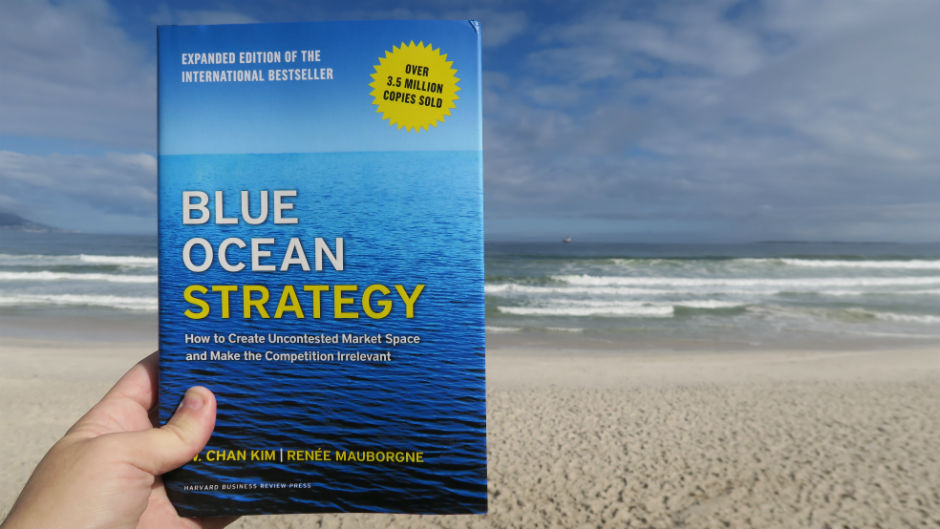 Capa do livre Blue Ocean Strategy A Estratégia do Oceano Azul