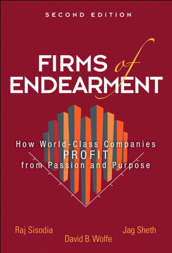 Capa do livro Firms of Endearment, sobre capitalismo consciente