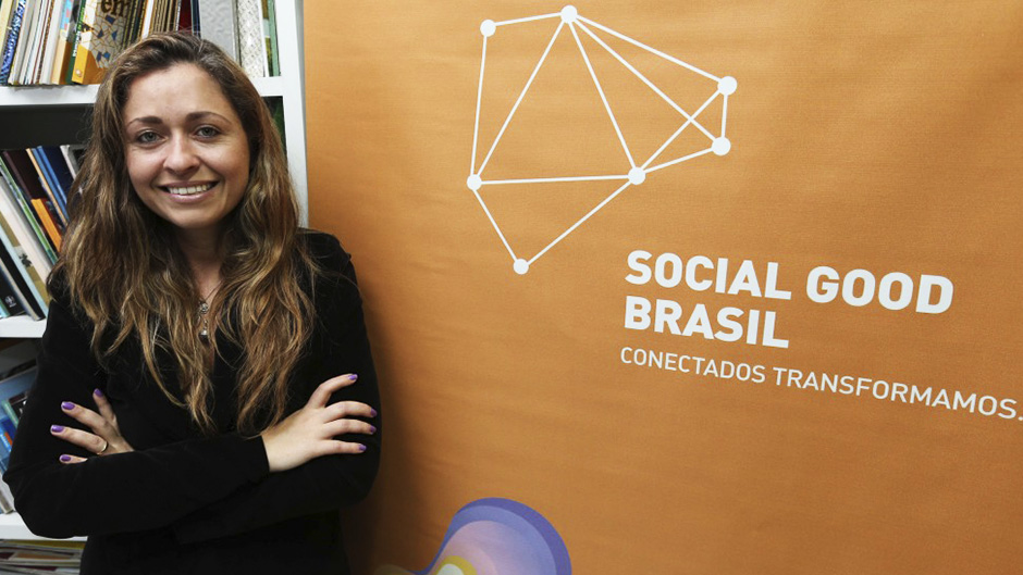 carolina andrade do social good brasil