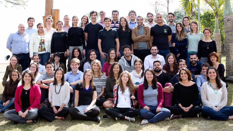 Equipe da Fundação Lemann em 2016