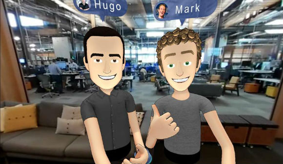 Hugo Barra e Mark Zuckerberg