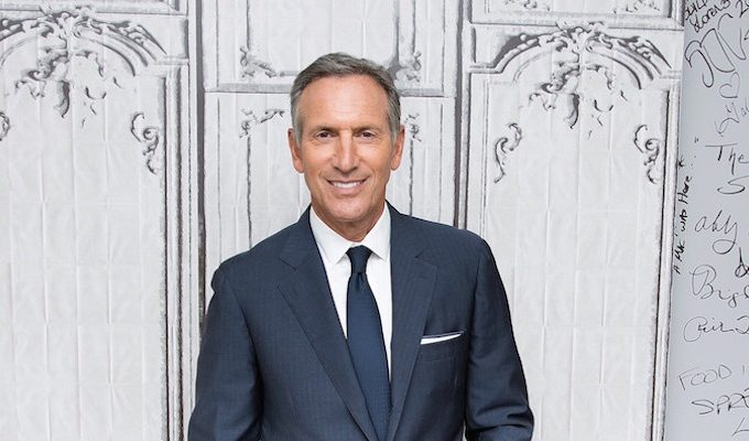Howard Schultz, CEO do Starbucks