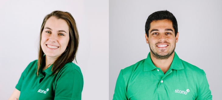 Bruna Barbosa e Stephan Schwartz, do Recruta Stone