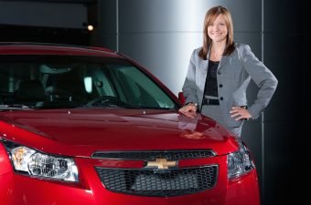 Mary Barra, CEO da GM