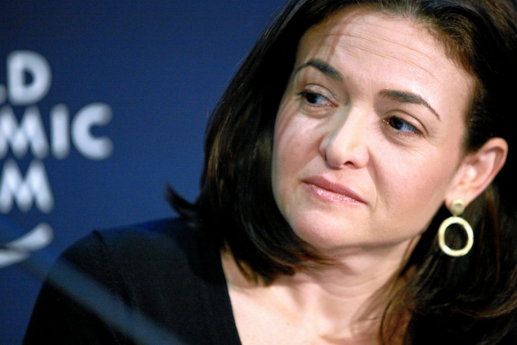 Sheryl Sandberg, COO do Facebook