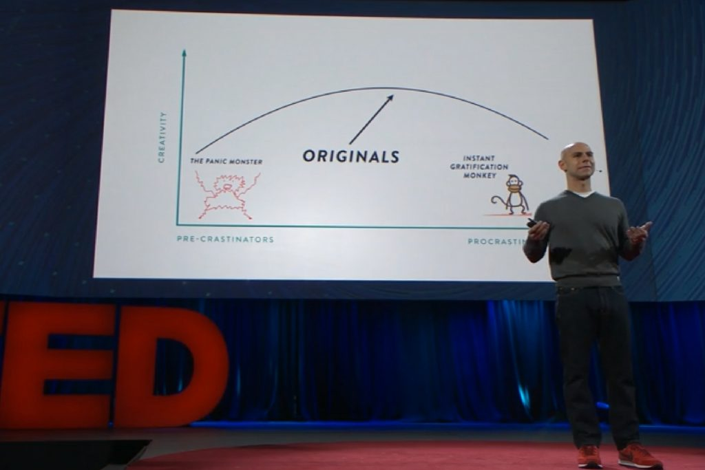 TED Talk: Hábitos Surpreendentes de Pensadores Originais