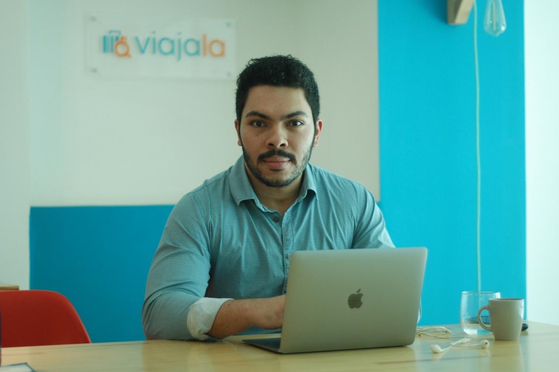 Eduardo Martins, diretor da Startup Viajala