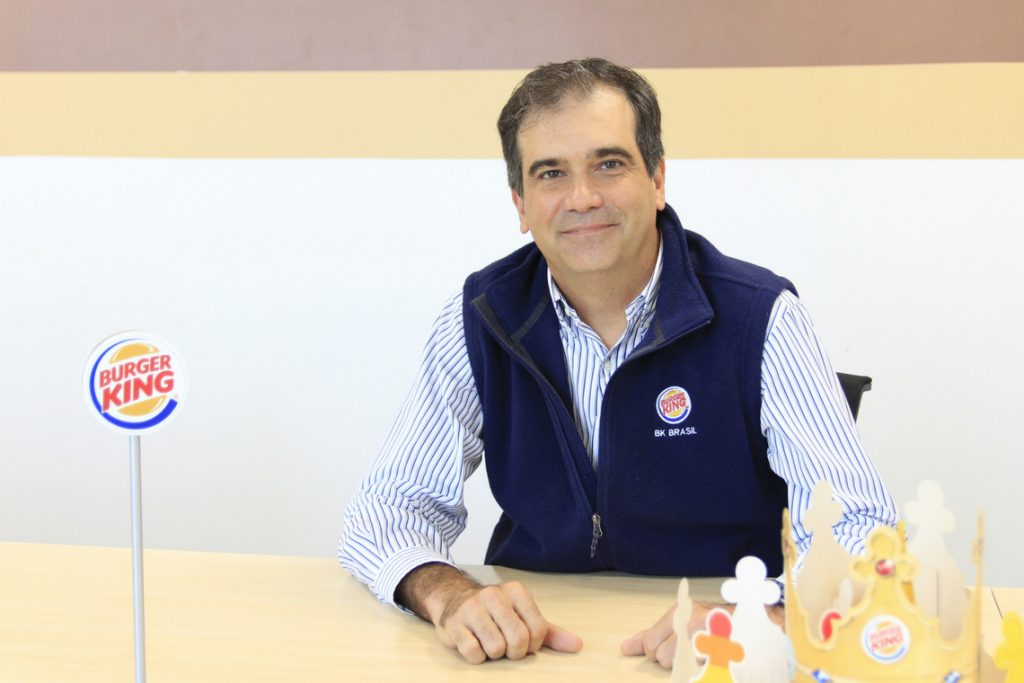 Iuri Miranda, CEO do Burger King Brasil