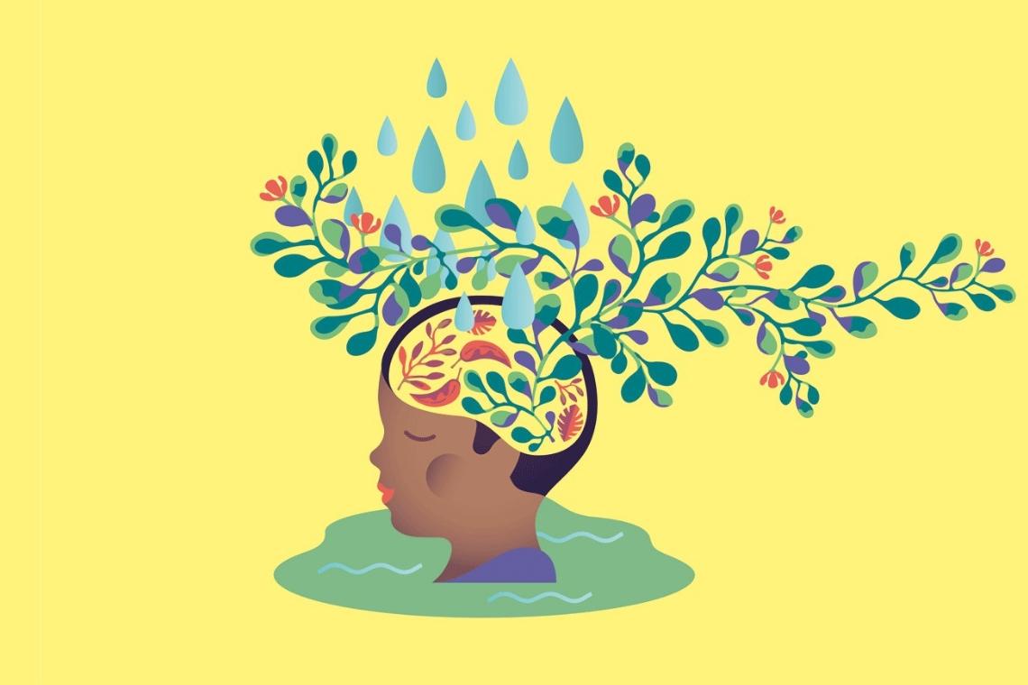 ilustração do conceito mentalidade de crescimento