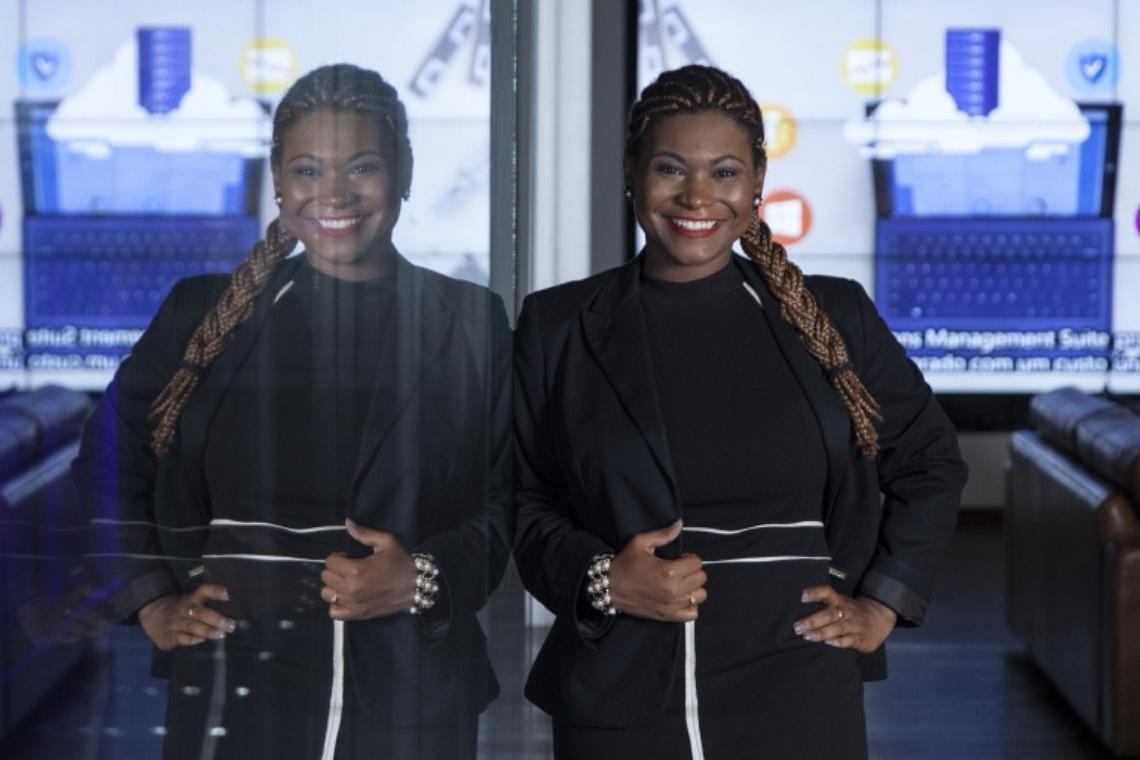 Lisiane Lemos é um dos talentos negros cuja história o Na Prática traz no Dia da Consciência Negra