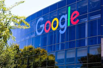 Fachada do Google