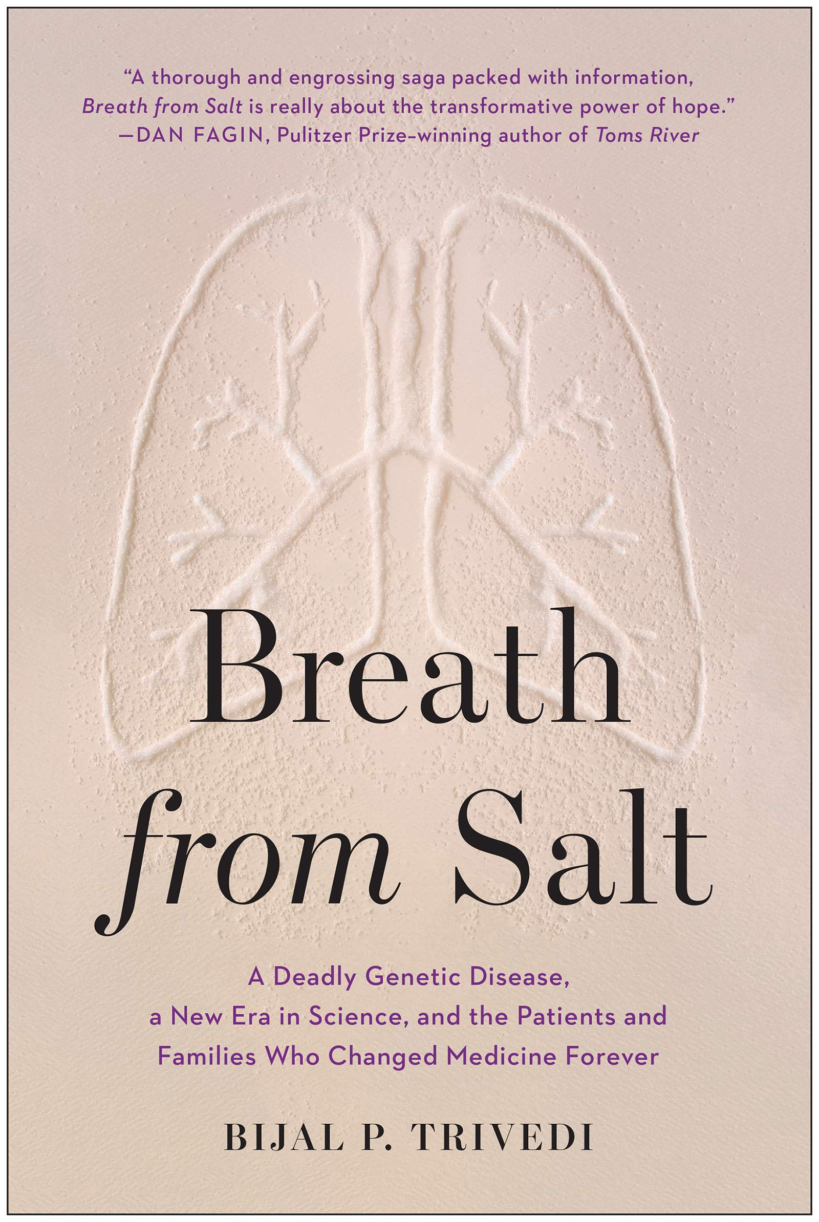 livro Breath from Salt: A Deadly Genetic Disease, a New Era in Science, and the Patients and Families Who Changed Medicine Forever